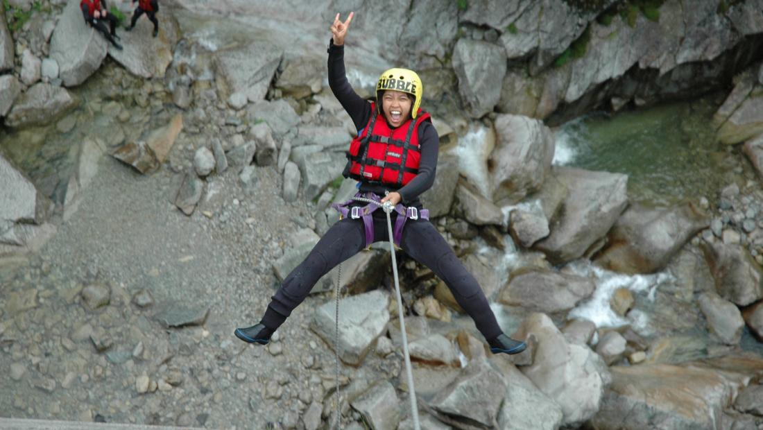 Canyoning_Grimsel