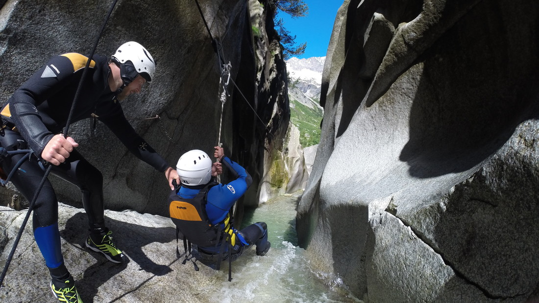 Canyoning_Grimsel 02