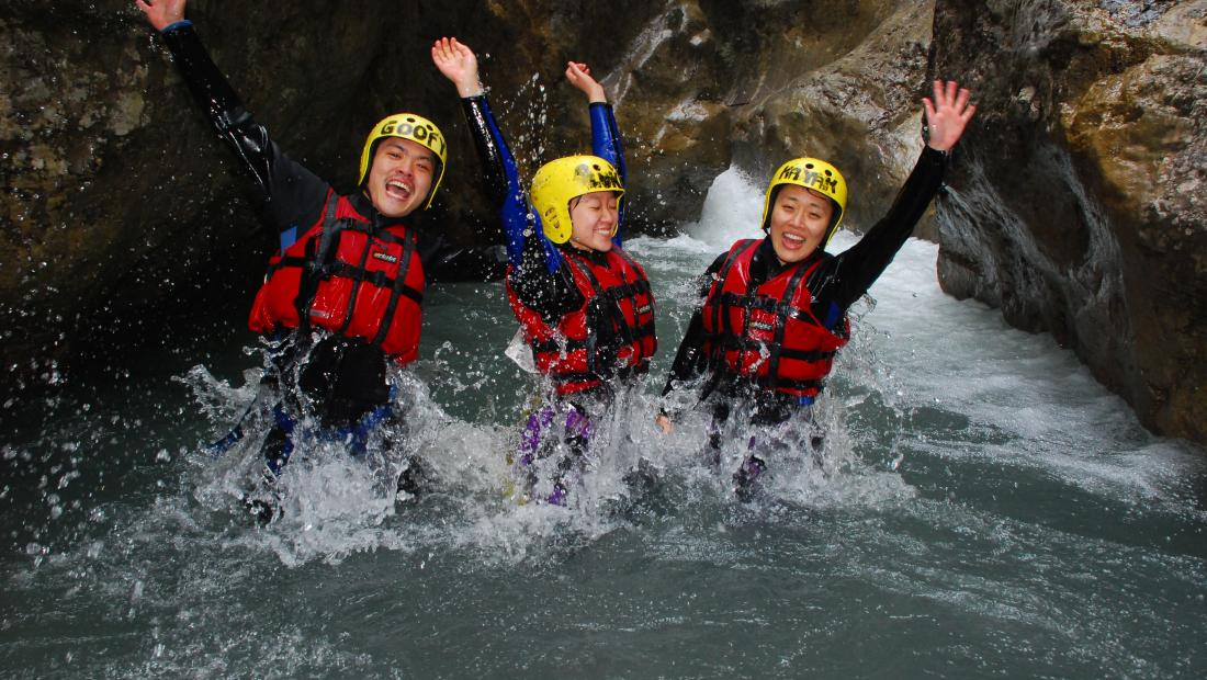 Canyoning_Interlaken