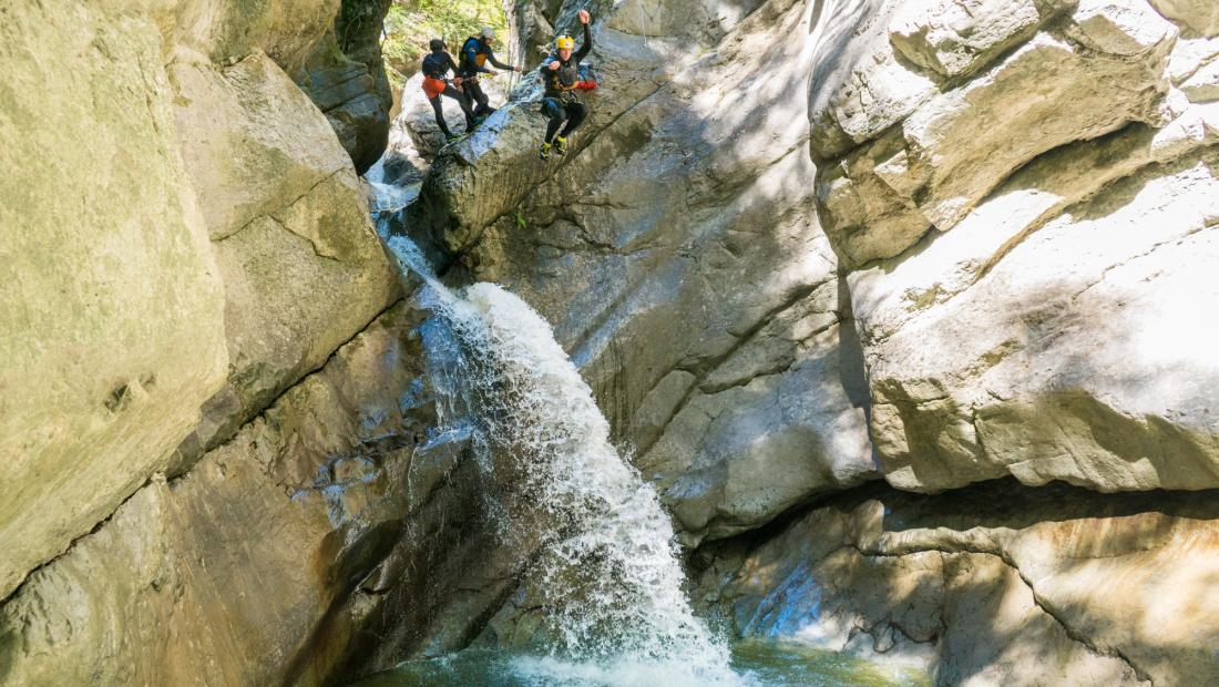 Canyoning_Schliere